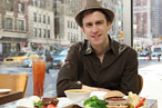 Gavin Creel of Broadway's <em>Hair</em> loves Josie's.