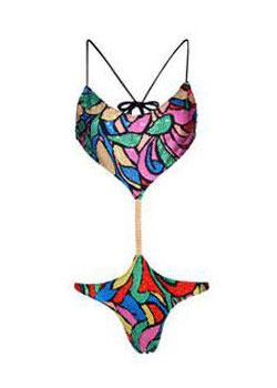 The $3,000 Bling-kini You Can't Even Swim In -- The Cut: New York Magazine's Fashion Blog :  new even fashion swim