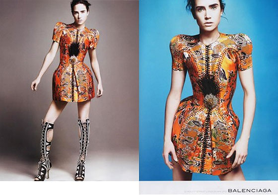 Jennifer Connelly Could Return As the Face of Balenciaga The Cut New York Magazine s Fashion Blog from nymag.com