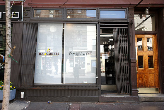 Baoguette's new location.