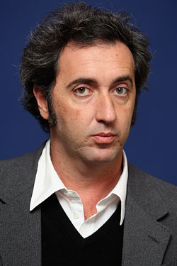 The 47-year old son of father (?) and mother(?), 178 cm tall Paolo Sorrentino in 2017 photo