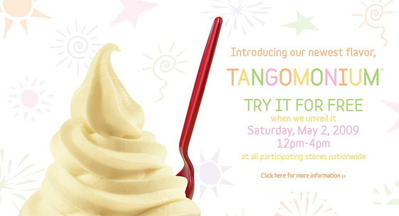 First Taste: Red Mango's Mysterious New Tangomonium Flavor