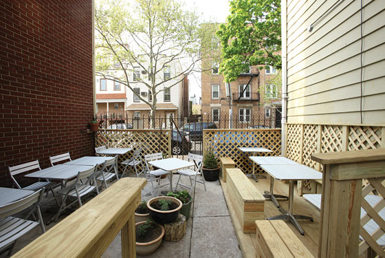 First Look at Motorino's Pizza Patio, Opening Tonight
