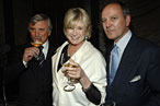 Julian Niccolini, Martha Stewart, and Alex von Bidder at the Four Seasons roast.