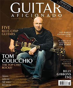 Tom Colicchio Wants to Show You His Fancy Guitars