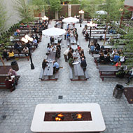 A Look at Long Island City's New Beer Garden, and Its Menu