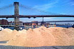Enter Sandman: The Building of Manhattan's First Water Taxi Beach Begins