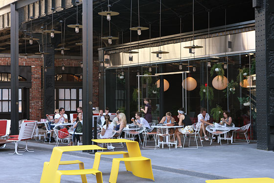 Standard's Patio Offers Bites From the Restaurant, Opening June 15