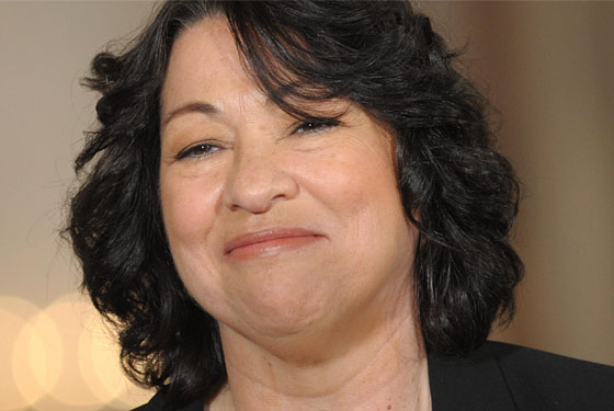 Sotomayor today.