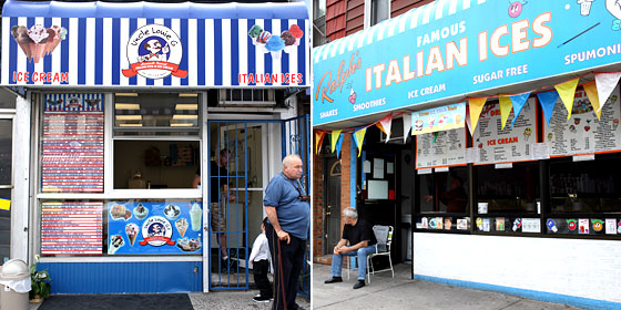 Forget Fro-Yo Wars: The Italian-Ice Wars Are On