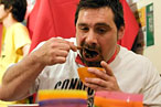 Professional Gorging: Curry- and Pizza-Chomping Champs Are Crowned