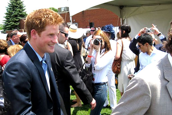 prince harry party. Prince Harry at the Polo