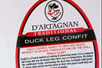 Duck Amuck: D'Artagnan Confit Recalled