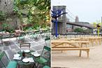 Water Taxi Beach and Vinegar Hill House Add Alfresco Brunches