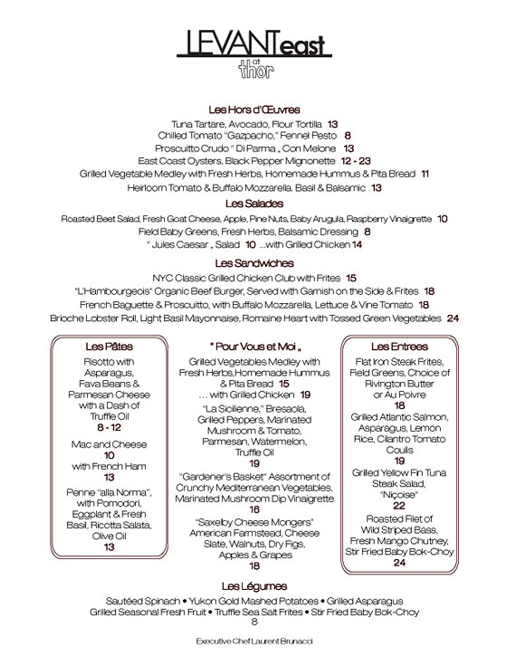 French Bistro Food Menu Care to see the menu?