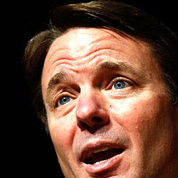 This is ... imagine if ... when John Edwards ... Oh, God, we can't.