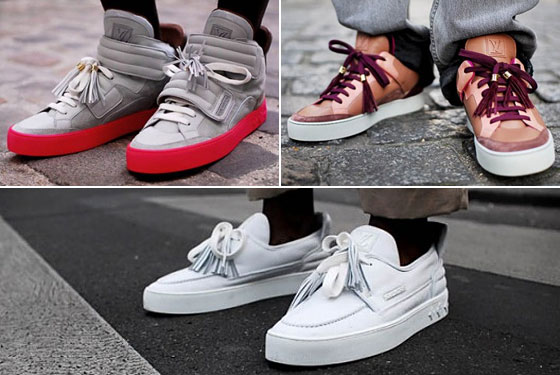 Louis Vuitton Sneakers Kanye West