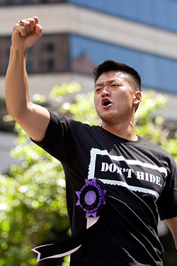 Choi at the San Francisco Pride Parade this weekend.