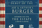 Franklin Becker Debuts the Abe & Arthur's Burger
