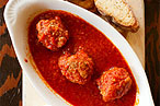 L&#39;asso&#39;s meatballs.