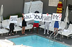 When You're Proposing to Someone, Remind Them You Have Rooftop Pool Access