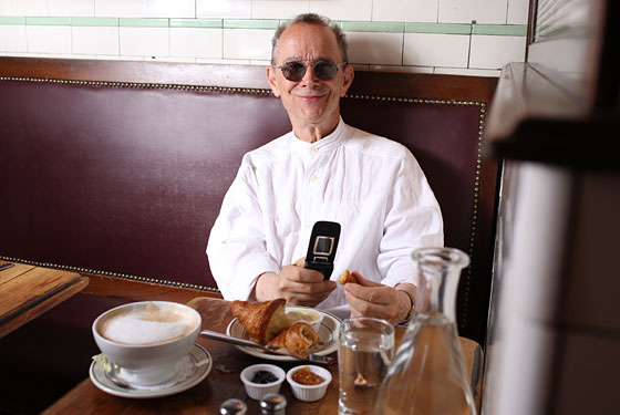 Breakfast at Pastis puts actor and photographer Joel Grey