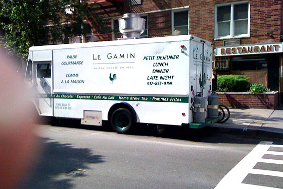 Le Gamin Truck Parks Outside of Joe Jr.: Too Soon?