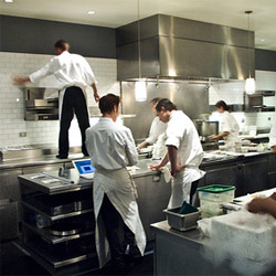 The Alinea kitchen: more than just Achatz.