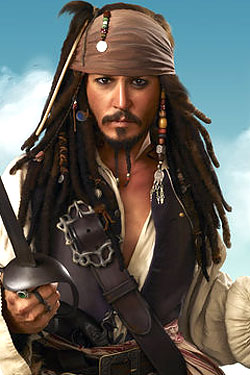 Image result for johnny depp pirates of the caribbean 4