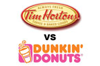 The Tim Hortons–Dunkin' Donuts Showdown: Day 1