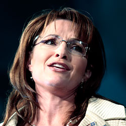 Sarah Palin and her hair.