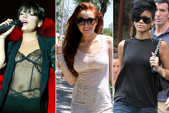 ... It's Hot Out Doesn't Mean You Have to Wear See-through Clothes