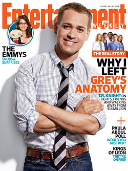 Work loving t r knight quit grey s anatomy over lack of screen time