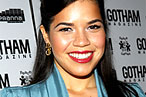 America Ferrera and Morgan Freeman Go to Fishtail, Stevie Wonder Leaves $1,000 Tip