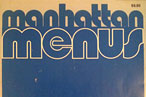 How Different Did Manhattan&#8217;s Menus Look 30 Years Ago?