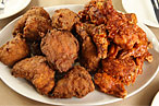 Momofuku Noodle Bar's fried-chicken feast.