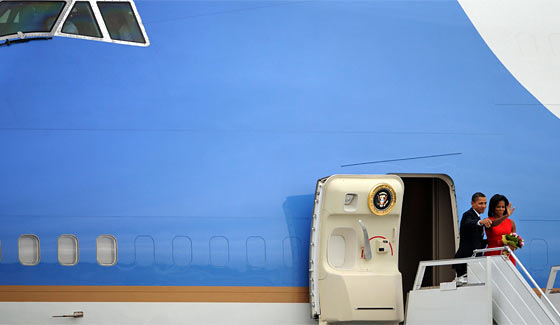 "Congress is clearly feeling the effects of the well-known disorder ""Air Force One Envy."""