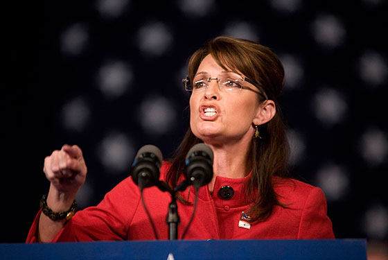Sarah Palin burned bright and faded fast.