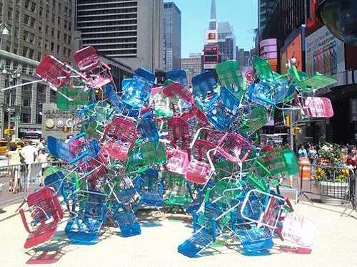 times table square. Adios, Times Square Beach