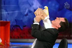 Colbert Horrifies Marion Nestle With Sugar Shower