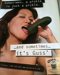 New Guss' Ad Is Nothing Short of Pickle Porn