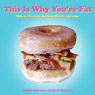 Schoolgirlish Donut Burger Makes This Is Why You're Fat Cover