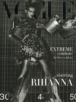 Rihanna's on the Cover of Italian Vogue's September Couture Supplement!