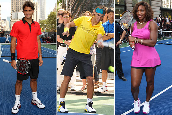 Roger Federer, Rafael Nadal, and Serena Williams Explain Their Flashy U.S. Open Ensembles