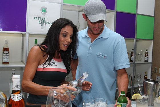 Have a Drink With Bethenny Frankel and Andy Roddick