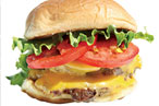 Picture your Shackburger dappled by Kings County sunlight.