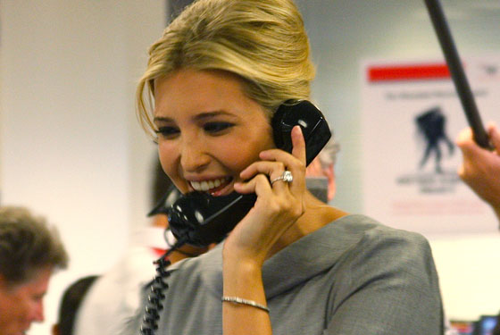 ivanka trump gives us the finger nymag