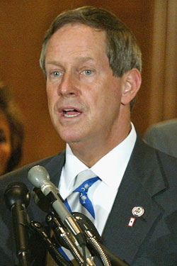 The one photo you've ever seen of Joe Wilson where he wasn't yelling.