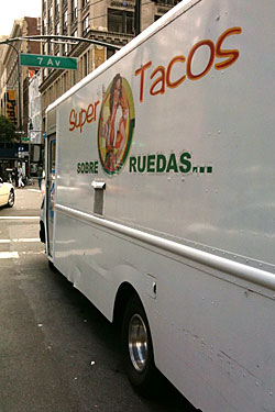 Super Tacos Parks Second Truck Downtown