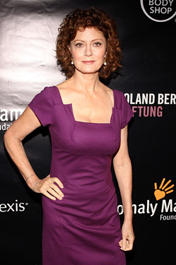 Sarandon, earlier that evening.